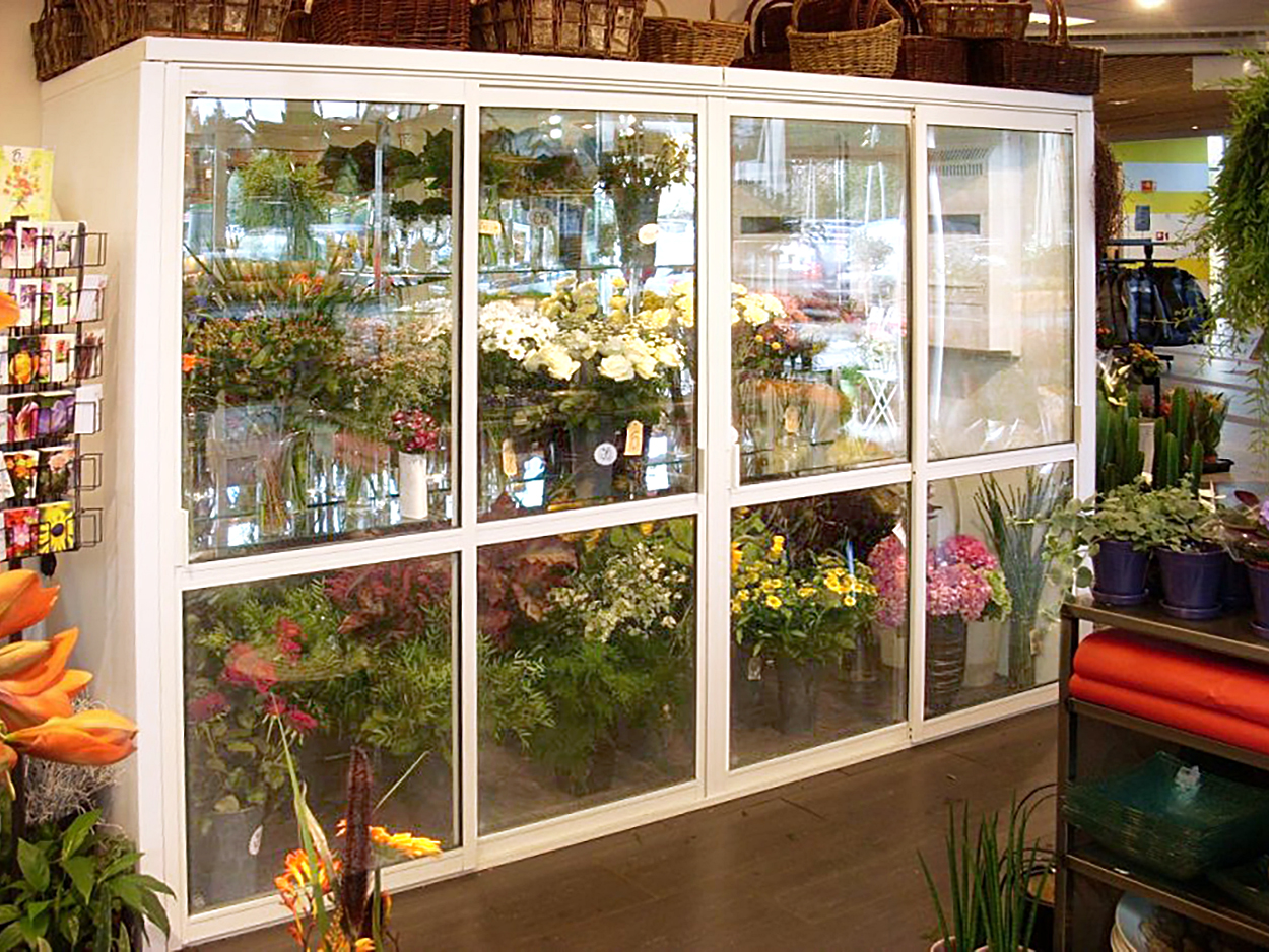 Flower Fridge For Display Florist Shops The Corner Company