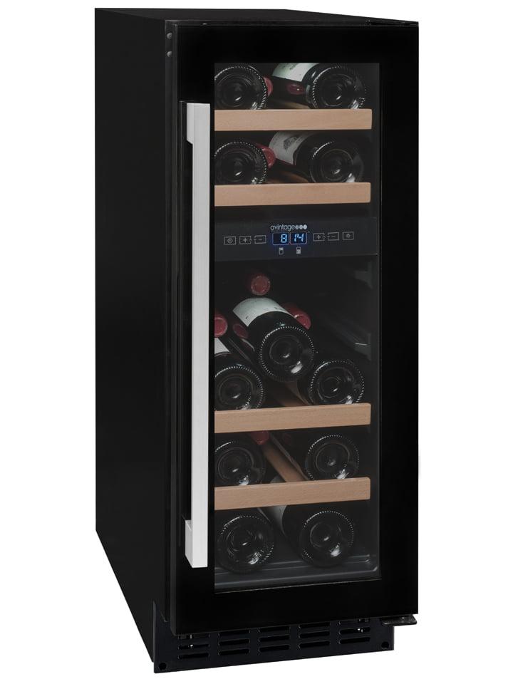 Avintage Built-In 2-Compartment AVU18CDZA Service Wine Cabinet