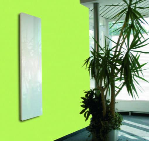 Solaris Glass Radiator Extra White