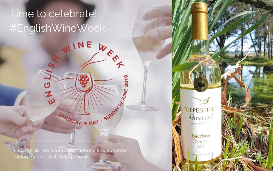 English Wine Week 2019 – something to celebrate!