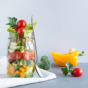Mason Jar - Salad pepper