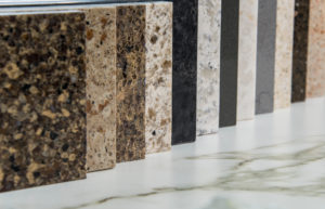 Selection of kitchen work tops